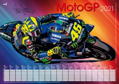 MotoGP 2021 Plakat