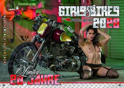 2020 Kalender »Girls & Bikes«