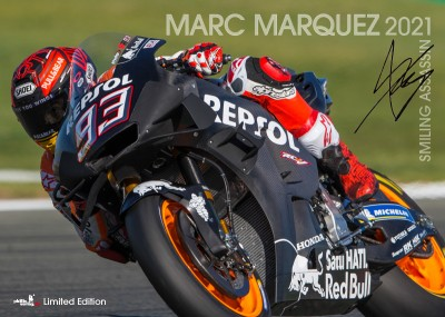 »Marc Marquez 2021 - Smiling Assassin«