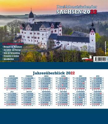 2022 3-MONATSPLANER »Sachsen«
