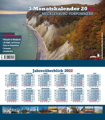 2022 3-MONATSPLANER »Mecklenburg-Vorpommern«