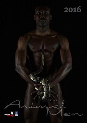 2016 Kalender »Animal Men«