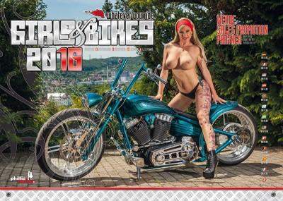 2016 Kalender »Girls & Bikes« GRATISVERSAND!