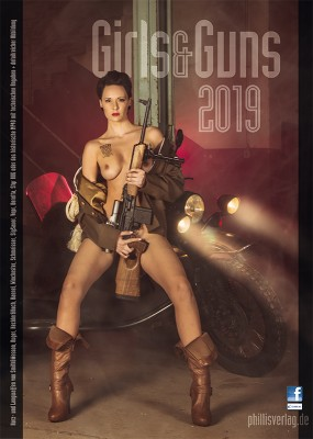 2019 Kalender »Girls & Guns«