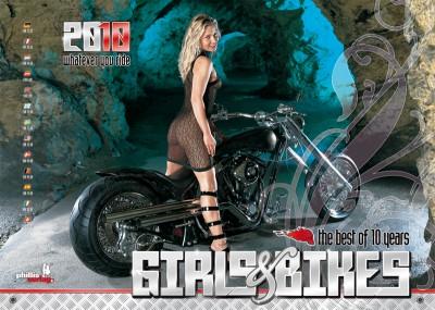 2010 Kalender »Girls & Bikes« Jubiläumsausgabe