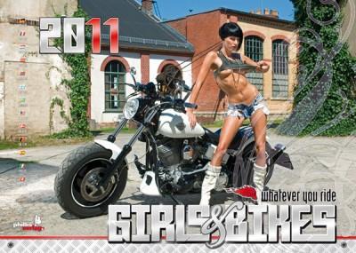 2011 Kalender »Girls & Bikes«