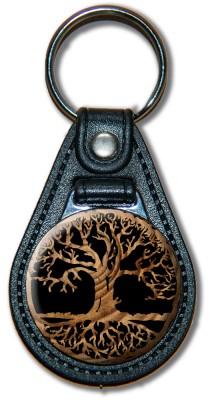 Schlüsselanhänger Lebensbaum_01_braun