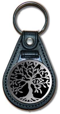 Schlüsselanhänger Lebensbaum_02_silber