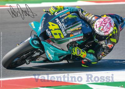Plakat A1 Valentino Rossi 2021