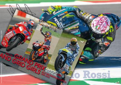 "Kalenderbundle ""GRAND PRIX AND GRID GIRLS 2022"" + GRATIS Plakat Valentino Rossi!!!"