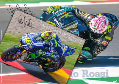"Kalenderbundle ""VALENTINO ROSSI - The Doctor 2022"" + GRATIS Plakat Valentino Rossi!!!"