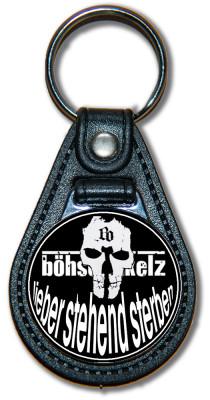 Schlüsselanhänger Böse Onkelz - Lieber stehend sterben