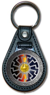 Schlüsselanhänger Sonnenrad