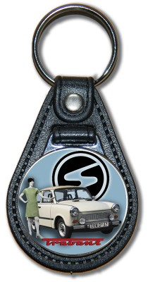 Schlüsselanhänger Trabant