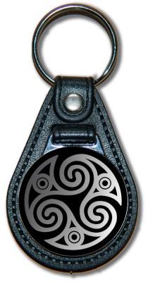 Schlüsselanhänger Triskele_04_silber