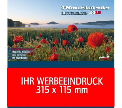 2019 Werbeplaner »Deutschland«