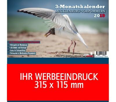 2019 Werbeplaner »Mecklenburg-Vorpommern«