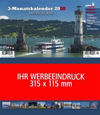 2020 Werbeplaner »Deutschland«