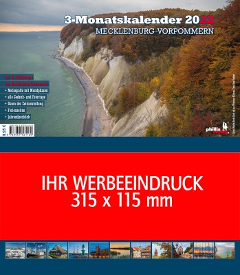 2022 Werbeplaner »Mecklenburg-Vorpommern«