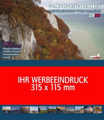 2020 Werbeplaner »Mecklenburg-Vorpommern«