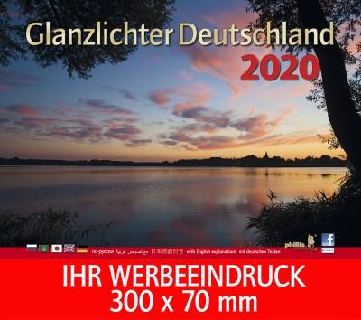 2020 Werbekalender »Glanzlichter Deutschland«