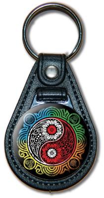 Schlüsselanhänger YinYang_01_bunt