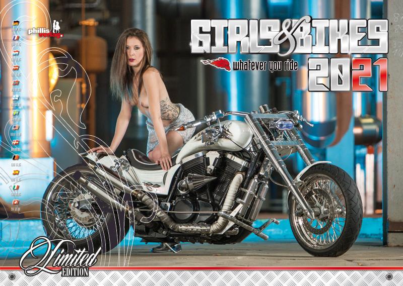 2021 Kalender »Girls & Bikes« GRATISVERSAND!