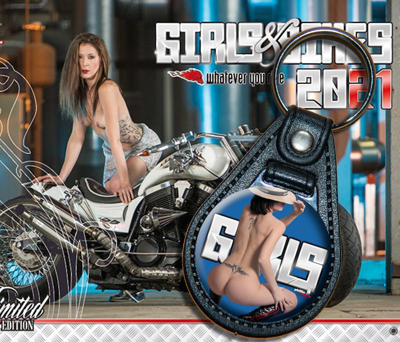 Bundle: Schlüsselanhänger Girl 02 + Kalender Girls & Bikes + gratis Familienplaner 2021