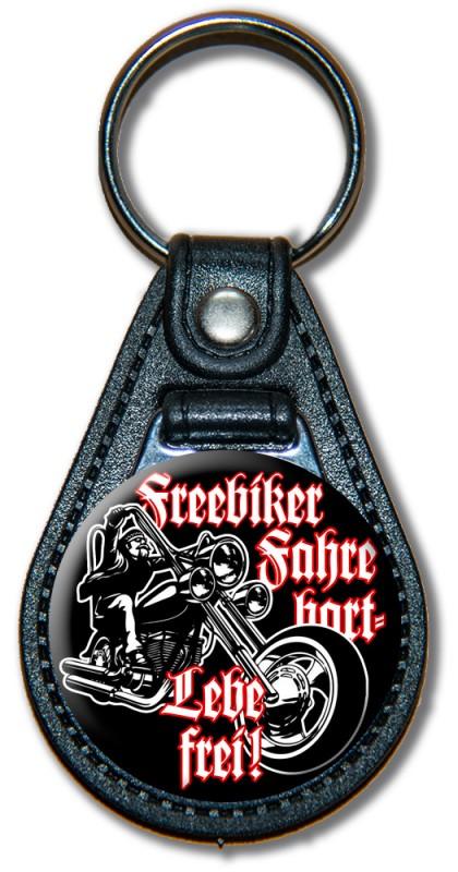 Schlüsselanhänger Freebiker