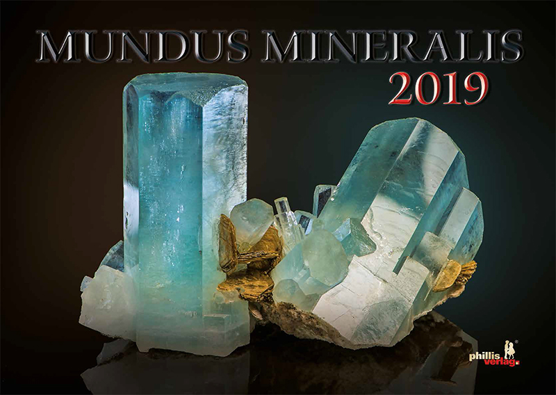 2019 Kalender »MUNDUS MINERALIS« REDUZIERT!!