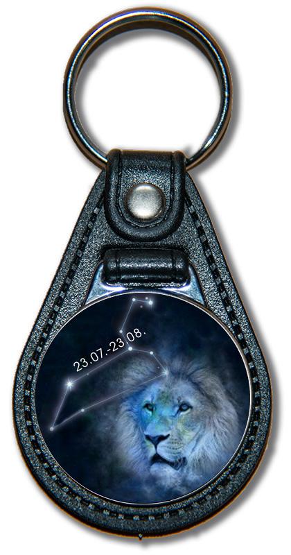 Schlüsselanhänger Sternzeichen Löwe (Bild)