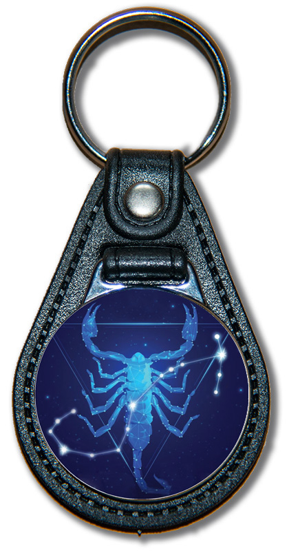 Schlüsselanhänger Sternzeichen Skorpion