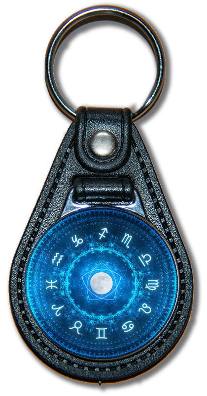 Schlüsselanhänger Sternzeichen/ Jahresbild