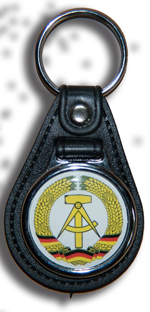 Schlüsselanhänger Wappen DDR
