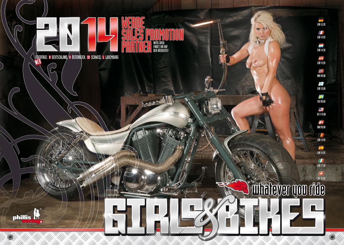 2014 Kalender »Girls & Bikes«