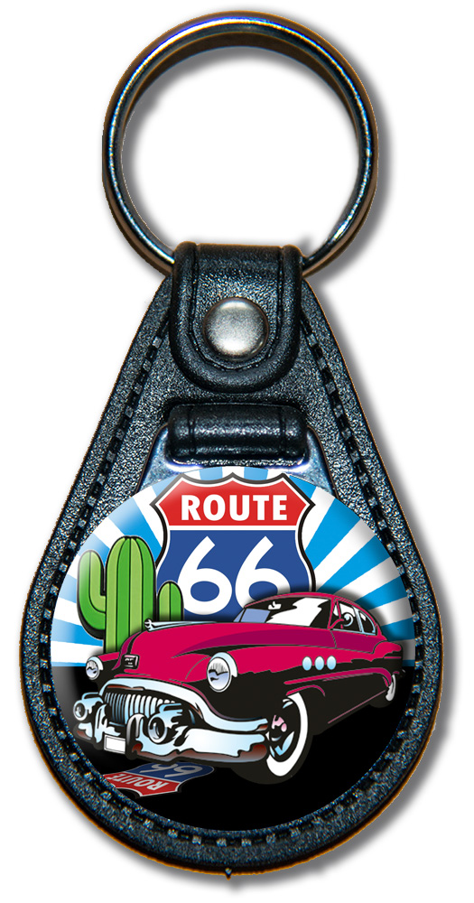 Schlüsselanhänger Route 66